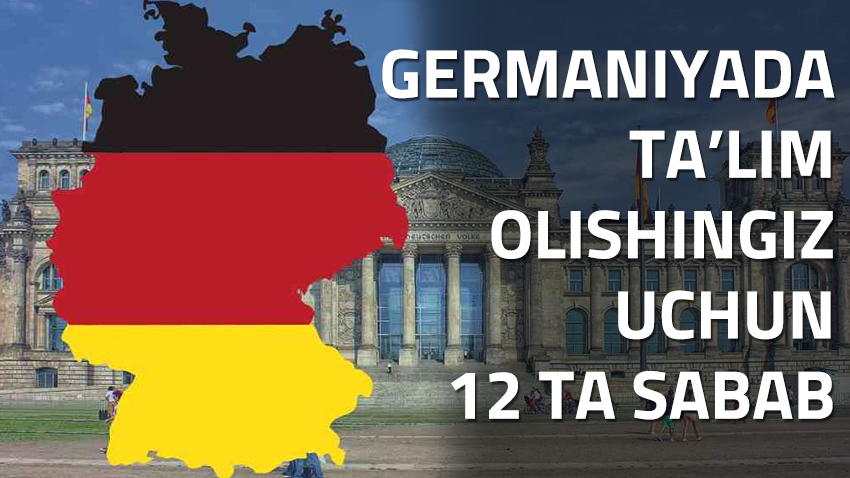 12 reasons why Germany is the perfect place to study